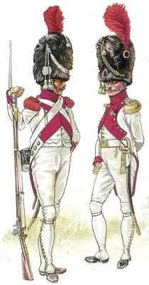 1812. Dutch Grenadier of the Imperial Guard in French service - The Dutch…