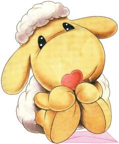 Mylo the Sheep Animal Drawings, Cute Drawings, Cute Images, Cute Pictures, Lapin Art, Blue Nose Friends, Cute Sheep, Baby Drawing, Cute Clipart