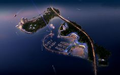 Amazing Masterplan and Hotel Proposal for a Luxury Island Resort by Holmes Miller   DesignRulz.com
