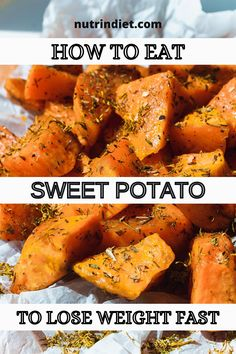 Sweet potato is a source of carbohydrate and a healthy carbohydrate because it has a lower glycemic index. It also has potassium, fiber, protein, vitamin A, some of the B complex, vitamin C, calcium, iron. So it's super interesting for you to put in your diet. #LoseWeight #Diet Sources Of Carbohydrates, Types Of Diets, Healthy Diet Tips, Lose Belly Fat, Best Weight Loss, How To Lose Weight Fast, Sweet Potato, Protein, Fiber