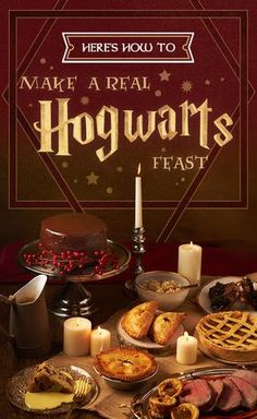 We Hosted A Hogwarts Feast And It Was Downright Magical