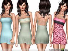 ekinege's Thin Strap A-Line Dress