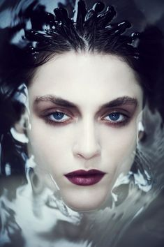 Jason Hetherington #face #makeup #water