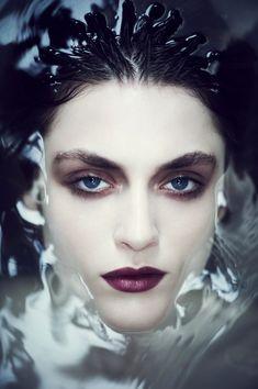 Jason Hetherington #face #makeup #water