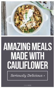 Cut calories and carbs with these cauliflower recipes!