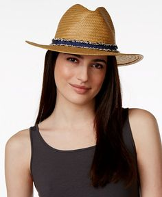 Vince Camuto Panama Hat | Macy's CityPlace
