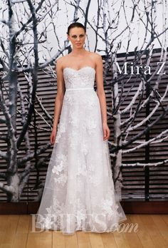Brides: Mira Zwillinger Wedding Dresses   2014 2015   Bridal Runway Shows   Brides.com | Wedding Dresses Style