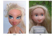 Here's What Happens When Bratz Dolls Get A Makeunder #refinery29  http://www.refinery29.com/2015/01/81026/bratz-tree-change-dolls-makeunder