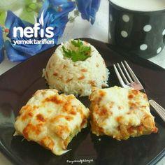 Beşamel Soslu Patatesli Tavuk - Nefis Yemek Tarifleri - #2935407 Turkish Recipes, Ethnic Recipes, Baked Potato, Eggs, Yummy Food, Cooking, Breakfast, Cream, Kitchens