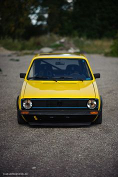 VW Golf Mk 1 I love a classic Golf!