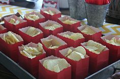 Cute way to serve potato chips