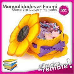 Curso Práctico Foamy Art Vol.1, diseños y patrones para Manualidades en Goma Eva - Foami