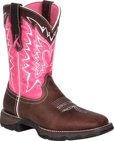 AWWW>.... If I had come off the pocket these would have been mine!!!!! Durango Women's Lady Rebel Benfitting Stefanie Spielman Western Boot Style : RD3557