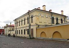 Maison du Major de la Forteresse - Saint Petersbourg - Construite de 1843 à 1844 par l'architecte Anton Kutsi.