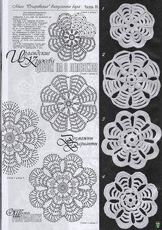 meu mundo do croche: alguns motivos do croche russo