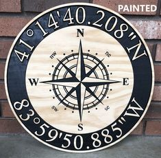 Your place to buy and sell all things handmade Home Again, Nautical Compass, Nautical Theme, 3d Cnc, Compass Rose, Wood Engraving, Engraving Ideas, Coastal Farmhouse, Make Arrangements