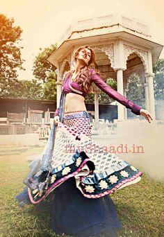 Indian Bridal Wear by Anju Modi