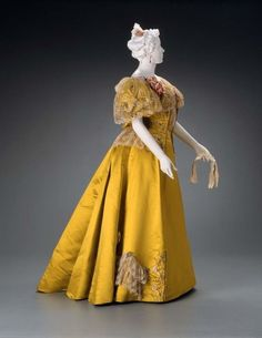 Evening DressMaggy Rouff, 1895The Museum of Fine Arts, Boston | OMG that dress! | Bloglovin'