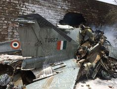 MiG-27 crashes in Jodhpur pilot ejects safely