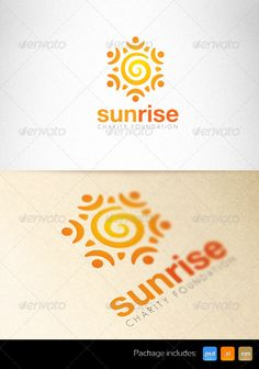 Sunrise Charity Foundation Creative - Logo Design Template Vector #logotype Download it here: http://graphicriver.net/item/sunrise-charity-foundation-creative-logo-/2349540?s_rank=426?ref=nexion