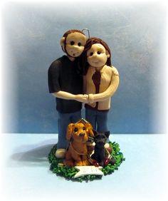 2012 Custom Family Christmas Ornament by lynnslittlecreations, $55.00