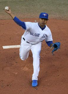 TORONTO — Marcus Stroman didn't have to read the reports over the summer linking his name to the Cubs in those Jeff Samardzija trade talks. The Toronto Blue Jays' prized rookie pitcher knew that Theo Epstein had his eye on him ever since his time Toronto Blue Jays, Marcus Stroman, Blue Jay Way, Mlb Teams, Sports Games, Track And Field, Major League, My Passion, Chicago Cubs