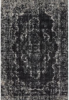 Rug Envy, it's a thing. _____________________________ Feizy Rugs - Azeri 3845F Black-Ecru