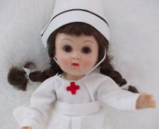 "Vogue Ginny Walker Doll 1955  ""Ginny Gym Kids Nurse"" #31 Adorable!"