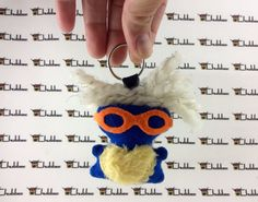 Lazentrip, Mini Chubbee Keychain, plush creature by LondonsKingdom on Etsy