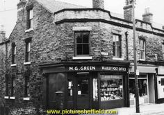 Walkley Post Office, No. Industrial Architecture, My Family History, Yorkshire England, Post Office, Sheffield, Old Photos, Portland, Past, Shops