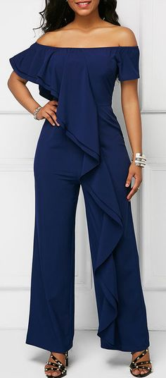 Cheap jumpsuits rompers Jumpsuits & Rompers online for sale Cute Fashion, Fashion Outfits, Womens Fashion, Blue Jumpsuits, Fashion Jumpsuits, Jumpsuits For Women Formal, Jumpsuit Outfit, Black Jumpsuit, Marie