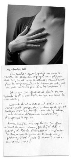Journal d'Agnès, 14 septembre 2007.