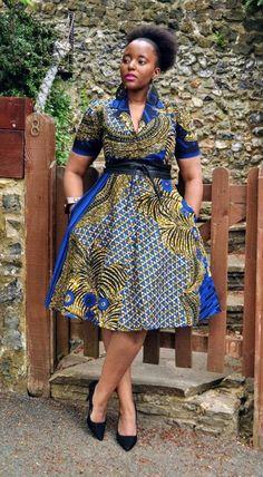 Magique KASI classic shirt dress Kasi dress , clean, évident and unfussy . African Fashion Ankara, Latest African Fashion Dresses, African Print Fashion, Africa Fashion, Dress Fashion, Short African Dresses, African Print Dresses, African Clothes, African Prints