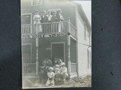 Offered @ Auction: June 4, 2017 @www.Rare-Era.com. Contact: info@Rare-Era.com. Part of a group of c.1919 photo albums including images of Linwood Park, Vermillion, Ohio.
