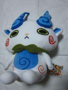 New Komasan Yokai Watch Big Plush Stuffed Doll BANDAI JAPAN F/S