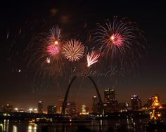See the Fireworks in St.Louis