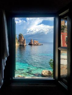 Tonnara di Scopello - Sicily Room With a View: The Best Hotel Views Around the World - Condé Nast Traveler Beau Site, Amsterdam City, Window View, Beaches In The World, Modern City, Mexico Travel, Amazing Destinations, Travel Destinations, Naples