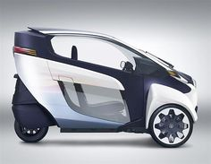 Toyota i-ROAD car-bike 2013