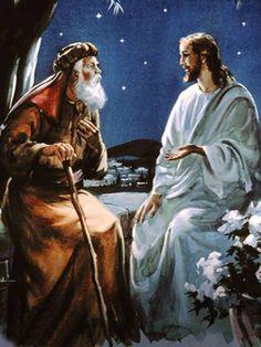 Bildresultat för jesus nikodemus