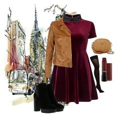 """Fall"" by aranzazu-ml ❤ liked on Polyvore featuring Miss Selfridge, Hogan, New Look, Mario Valentino, Fall, outfit, day and dailyset"