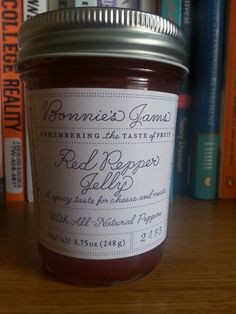 Bonnie's Jams Red Pepper Jelly