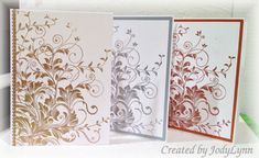 Elegant Notecards I by jodylb - Cards and Paper Crafts at Splitcoaststampers