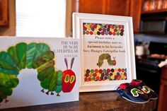 "Photo 1 of 46: The Very Hungry Caterpillar / Birthday ""Anderson's 1st Birthday"" 