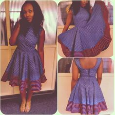 South Sotho Shweshwe Dresses 2018 … shweshwe traditional attire 2018 – African propaganda is circulars of and from Africa African Dresses For Women, African Print Dresses, African Attire, African Wear, African Fashion Dresses, African Women, African Prints, African Outfits, Traditional Skirts