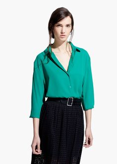 Flowy shirt Professional Outfits, Professional Clothing, Professional  Attire, Professional Dresses, Dress Clothes e05e47c74f39