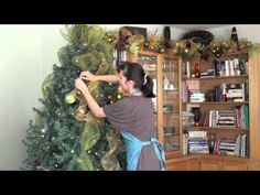 Christmas Tree Decorating Tutorial - Sow and Dipity