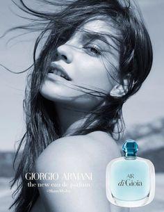 Giorgio Armani Acqua Di Gioia Fragrance 2017 Campaign - Barbara Palvin - Karim Sadli