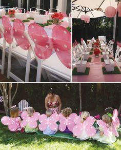 love-bug-pink-party - cute place settings and party favors
