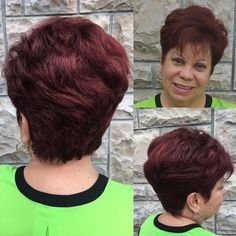 Short Layered Haircut For Women Over 50