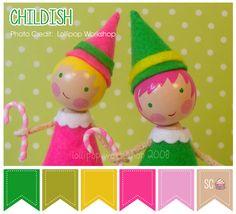Childish Color Palette - Inspire Sweetness  http://www.inspiresweetness.blogspot.com/2013/12/childish-color-palette.html